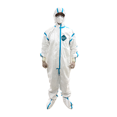 Winner Protective Coverall With Hood And Shoe Cover