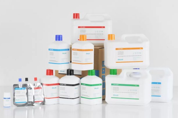 Dewei Mindray BC-6900 BC-6800 Laboratory Hematology Reagents Closed System With Barcode