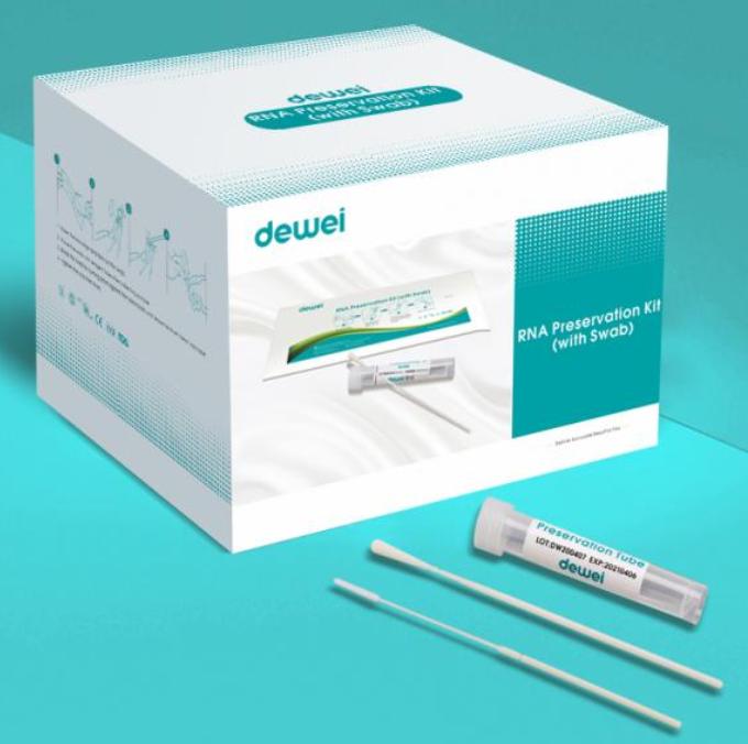 Dewei Virus Transport Medium with Nasal Oral Swab for Corona COVID-19